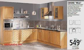 meuble de cuisine en bois facade meuble cuisine bois brut pour idees de deco de cuisine luxe