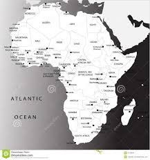 Political Map Africa by Political Map Of Africa Stock Images Image 8733954