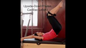 Exercise Upside Down Chair Upside Down Pilates Level I Cadillac Youtube