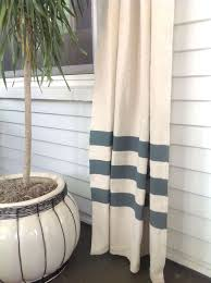 White And Blue Striped Curtains Diy Curtains That Will Your Mind