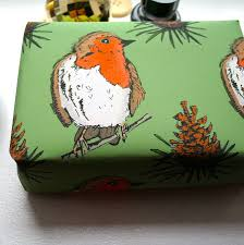 christmas wrapping paper sale woodland robin christmas wrapping paper by