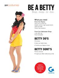 Betty Boop Halloween Costume Goodwill Halloween Diy Costumes Betty Pin Diy Halloween