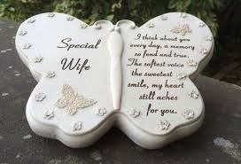 butterfly design grave ornament for special funeral memorial