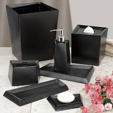 bathroom accessories black interior design