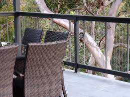 Timber Handrails And Balustrades Aluminium Vertical Cable Wire Balustrades And Pool Fencing