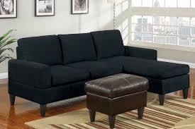 black microfiber sectional sofa sets modern sofas shocking