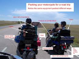 nissan leaf trip planner the anatomy of a packed motorcycle for your road trip motorcycle