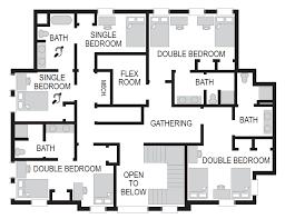 Sorority House Floor Plans Ksu Housing And Residence Life Special Interest Houses