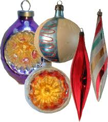 1960s ornaments princess decor