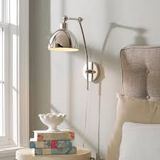 Adjustable Wall Sconce Best 25 Plug In Wall Sconce Ideas On Pinterest Plug In
