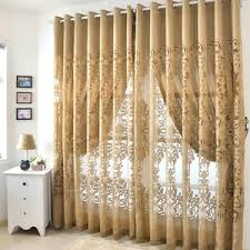Exam Room Curtains Good Blackout Champagne Soundproof Room Dividing Curtains