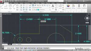how to create dimensions in autocad lynda com tutorial youtube