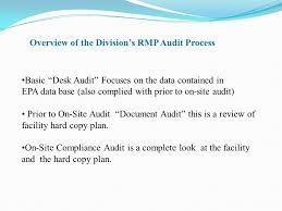 Desk Audit Tim Date Manager Risk Management Planning Unit Ppt Video Online