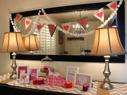 valentine dinner table decorations delightful valentine day console table decorating inspiring design