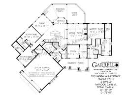 nantahala cottage 2686 house plan country farmhouse southern