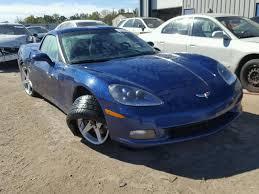 chevy corvette 2007 salvage chevrolet corvette for sale at copart auto auction
