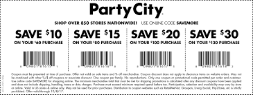 party city coupons printable coupons in store u0026 coupon codes