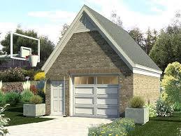 1 car garage plans u0026 one car garage designs the garage plan shop