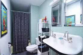 Mid Century Bathroom Lighting Apartments Industrial Modern Bathroom Design With Bathroom Sink