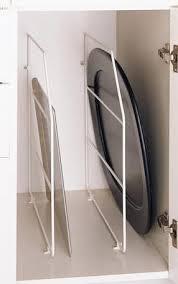 Kitchen Cabinet Dividers Wire Tray Dividers Kitchen Organization Cabinet Storage