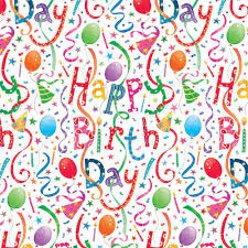 wrap paper happy birthday gift wrap two 40 x 28 sheets on roll caspari