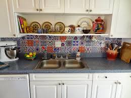 kitchen backsplash decals yaya bleucoin tile decal backsplash