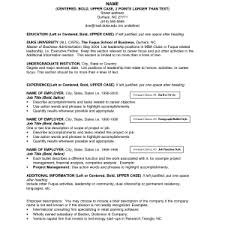 Resume Names Examples Good Resume Titles Examples Resume Example And Free Resume Maker
