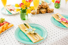 elevate your easter table with last minute paper flower napkin