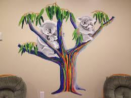 speed painting rainbow eucalyptus tree youtube
