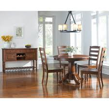Dining Room Tables With Extension Leaves by Oval Single Pedestal Dining Table With Extension Leaf By Aamerica