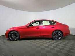 infiniti q50 2017 white 2017 infiniti q50 red sport 400 awd sedan for sale in warwick ri