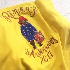 paddington clothes personalised paddington cotton knit baby blanket handmade to