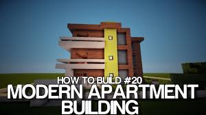 How To Build A Bookcase In Minecraft Minecraft How To Build 20 Modern Hotel Apartment Building On