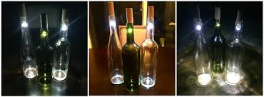 Wine Bottles With Lights Diy Wine Bottle Lights A Unique Way To Upcycle Empty Wine