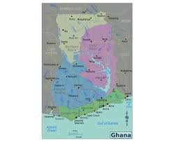 Map Of Gulf Coast Maps Of Ghana Detailed Map Of Ghana In English Tourist Map