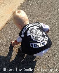 Baby Biker Costume Toddler Halloween Sons Anarchy Toddler Halloween Costume