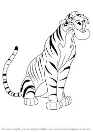 learn draw shere khan jungle book jungle book