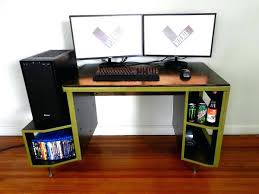 Gaming Desk Plans Gaming Desk Designs 1 Reply 2 Retweets 1 Like Gaming Pc Desk Plans
