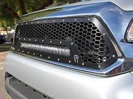 20 In Light Bar 2012 2015 Toyota Tacoma Led Grille Black Rigid Industries