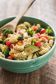crab pasta salad recipes italian dressing good food recipes