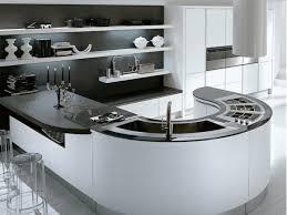 kitchen island modern kitchen dazzling modern curved kitchen island black and
