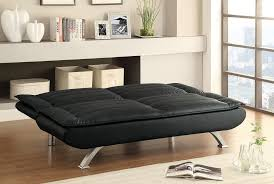 Modern Queen Sofa Bed Coaster 500055 Modern Black Sofa Bed Futon