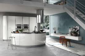 meuble cuisine arrondi cuisine design culinelle l îlot arrondi sigma armony cuccine