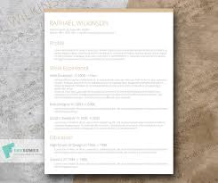 Vintage Resume Template Crafty And Casual U2013 A Smart Resume Template For Free