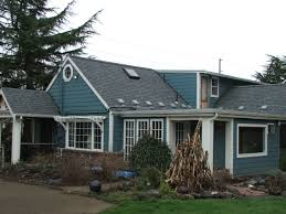 estate gray shingles blue house exterior pinterest stucco