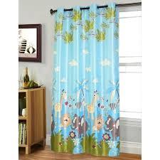 rideau chambre bébé jungle rideau jungle bebe rideau rideau occultant enfant 140 260 cm bleu
