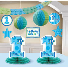 1st birthday themes for 1st birthday boy decorating kit party accessory toys