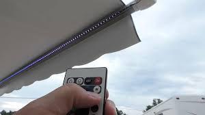 Rv Awning Roller Tube New Led Awning Light Kit Installed Youtube