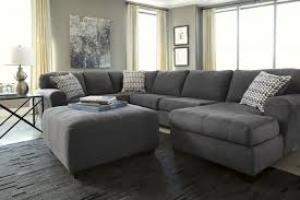 Sectional Sofa With Ottoman Signature Desig By Ashley Sorenton Slate Sectional Sofa With Ottoman