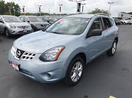 Nissan Rogue Green - used certified one owner 2015 nissan rogue select s elgin il
